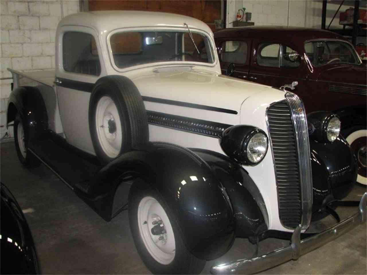 1937 dodge 1 2 ton pickup truck for sale cc 1038289. Black Bedroom Furniture Sets. Home Design Ideas