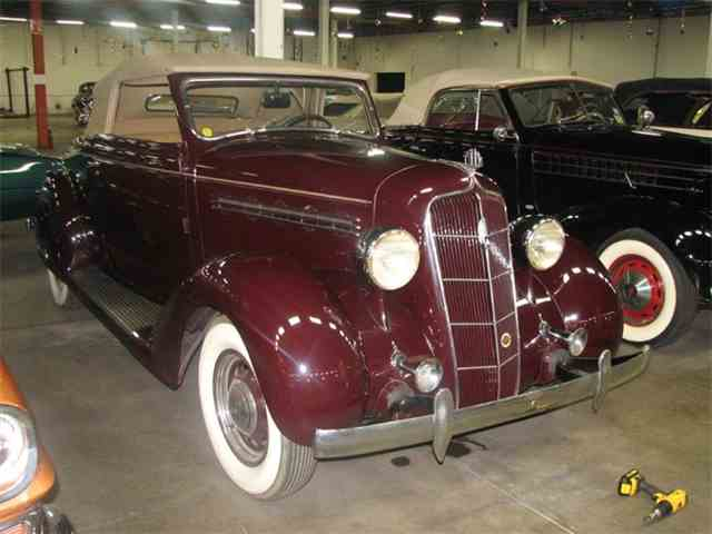 1935 Plymouth Rumble Seat Convertible | 1038326