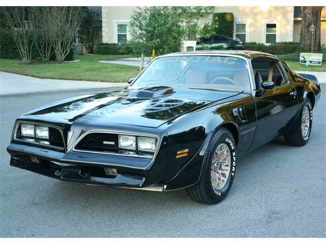 1978 Pontiac Firebird for Sale on ClassicCarscom  41 Available