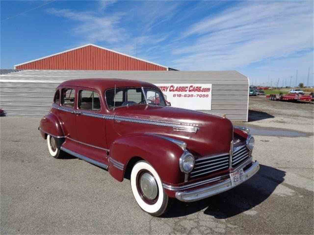 1942 hudson commodore for sale cc 1038514. Black Bedroom Furniture Sets. Home Design Ideas