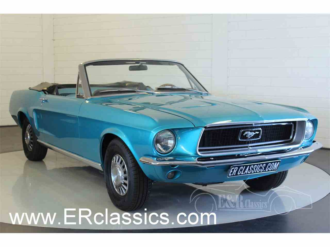Large Picture of Classic 1968 Mustang Offered by E & R Classics - M9HP