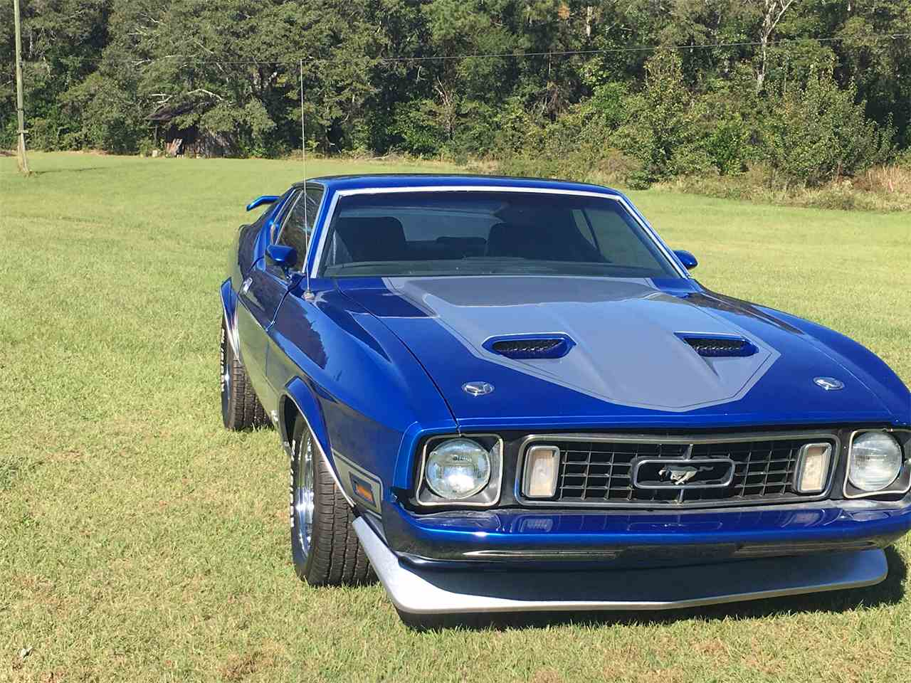 1973 ford mustang mach 1 for sale cc 1038741. Black Bedroom Furniture Sets. Home Design Ideas