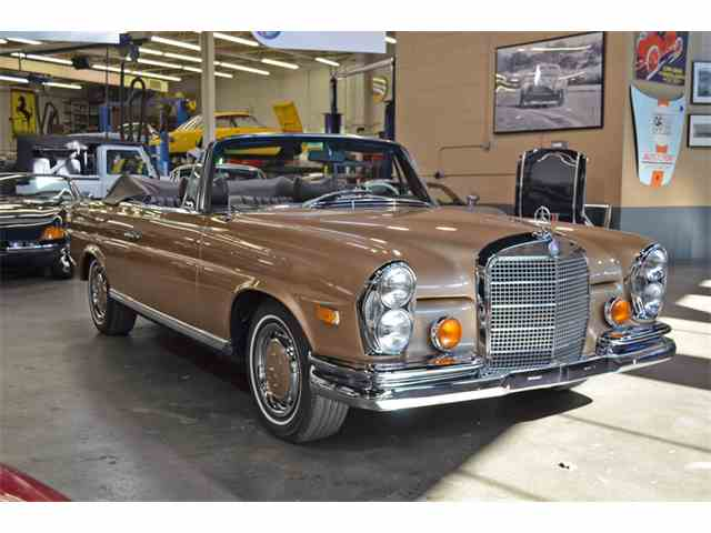 1969 mercedes benz 280se for sale on for Mercedes benz 1969