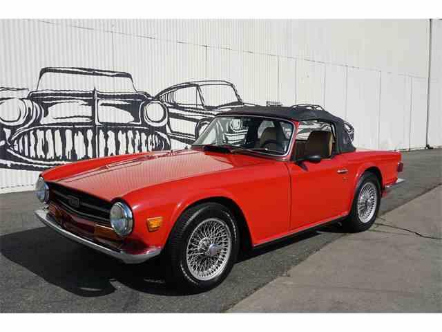 1969 Triumph TR6 | 1038840