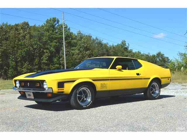 1972 ford mustang mach 1 for sale on 4. Black Bedroom Furniture Sets. Home Design Ideas