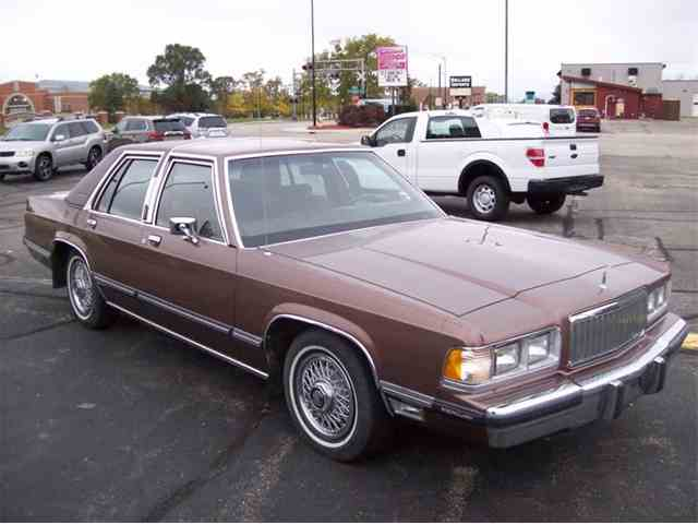 Classic mercury marquis for sale on classiccars 24 available 1989 mercury grand marquis 1039203 sciox Images
