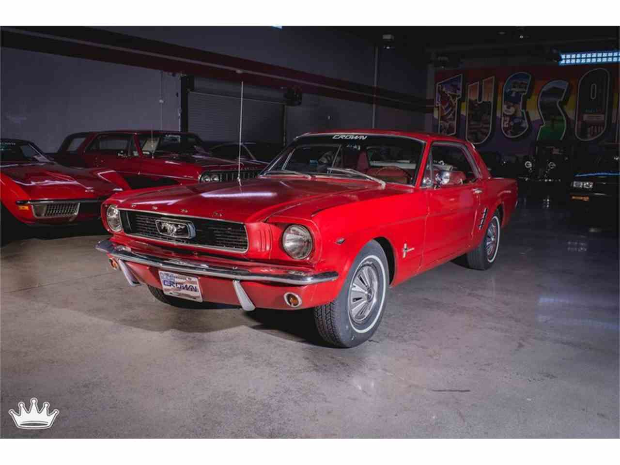 Large Picture of '66 Mustang - M9ZU