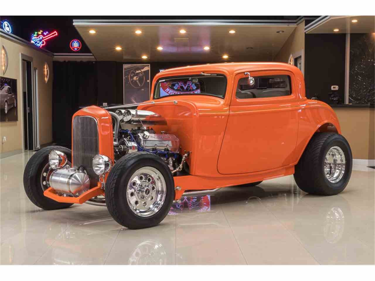 1932 ford 3 window coupe street rod for sale classiccars for 1932 ford three window