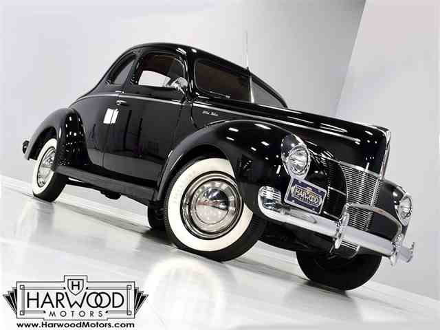Picture of 1940 Ford Deluxe Offered by Harwood Motors, LTD. - MA9W