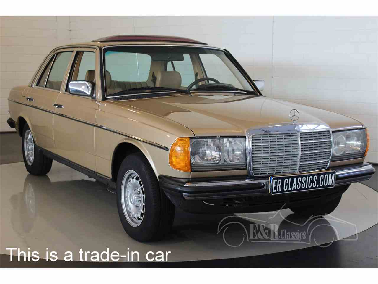 1984 mercedes benz 230 for sale cc 1039777 for Mercedes benz 230 for sale