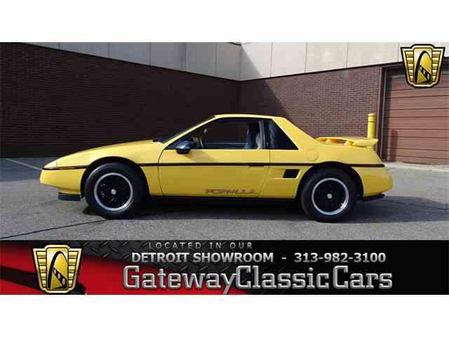 1988 Pontiac Fiero | 1039888