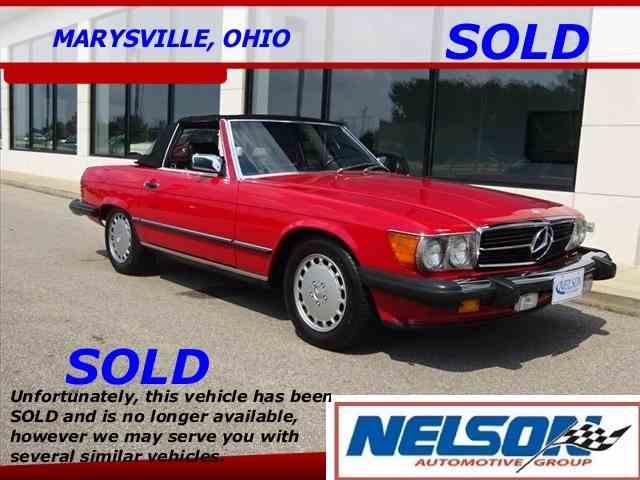 1986 Mercedes-Benz 560 | 1030989