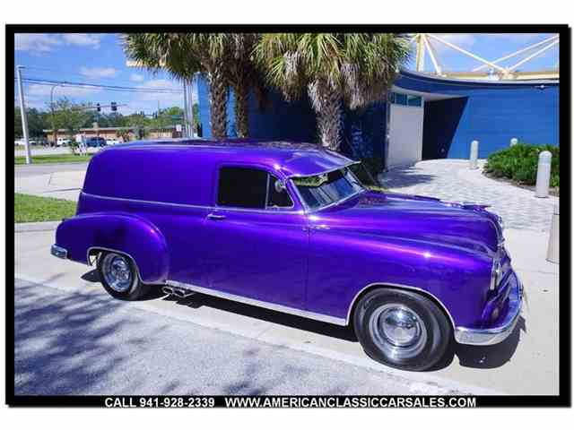 Picture of '51 Sedan Delivery located in Florida - $23,500.00 Offered by American Classic Car Sales - MAFI