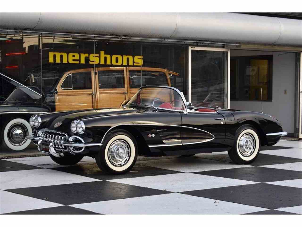 1959 chevrolet corvette for sale cc 1039958. Black Bedroom Furniture Sets. Home Design Ideas