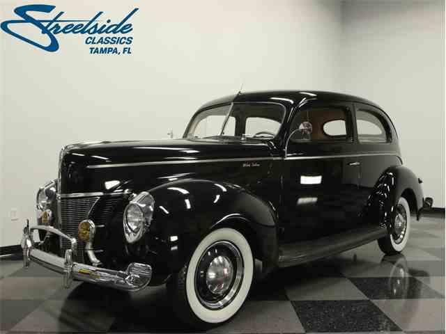 1940 Ford 2 Door Sedan Deluxe | 1041008