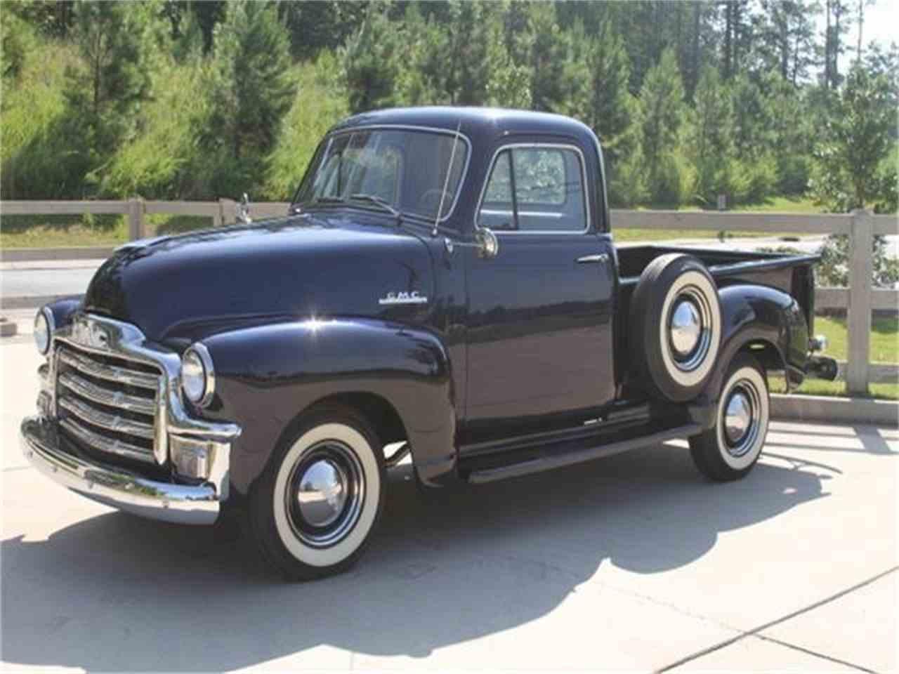 1954 gmc pickup for sale cc 1040113. Black Bedroom Furniture Sets. Home Design Ideas