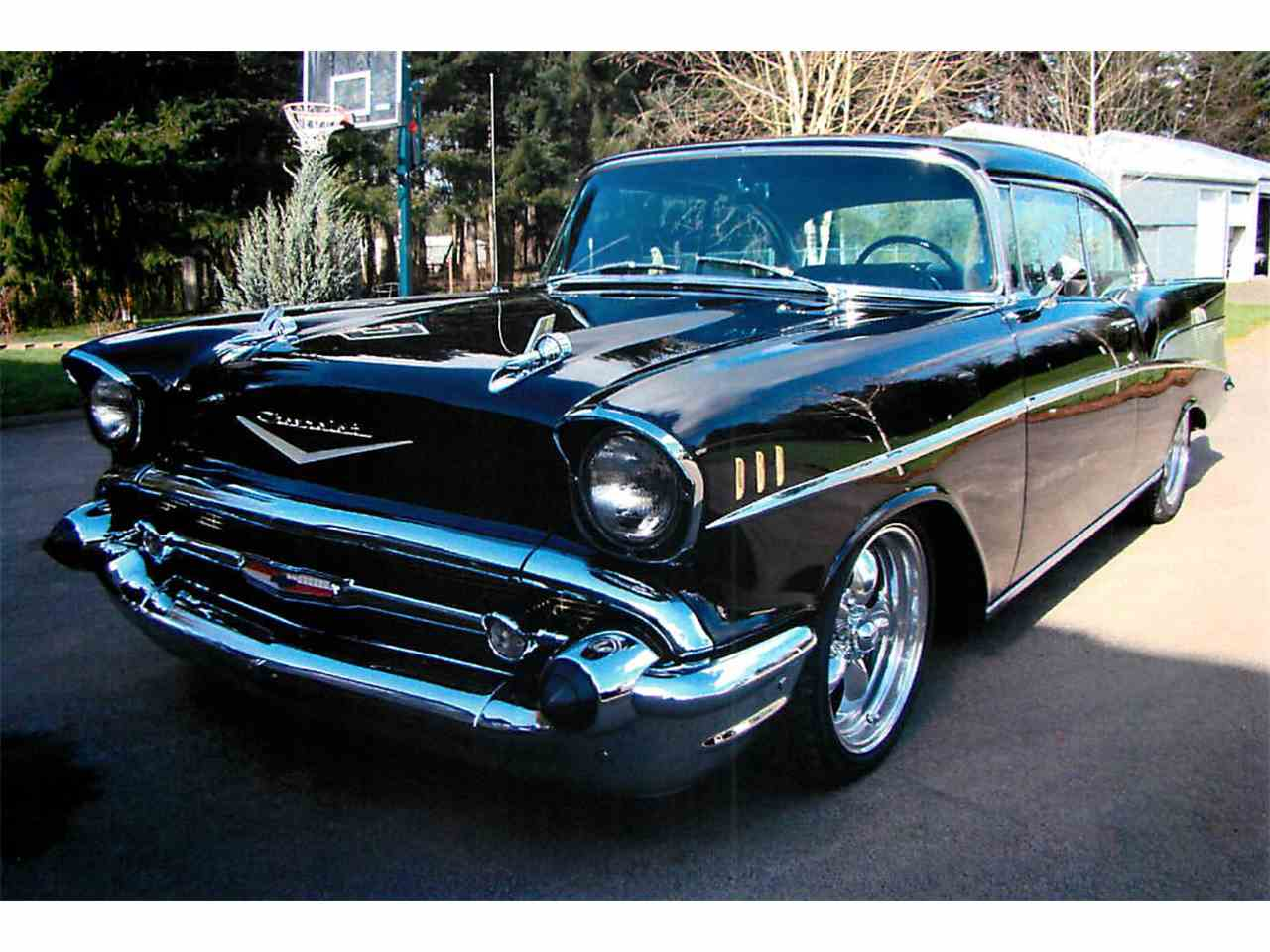 1957 chevrolet bel air for sale cc 1040124. Black Bedroom Furniture Sets. Home Design Ideas