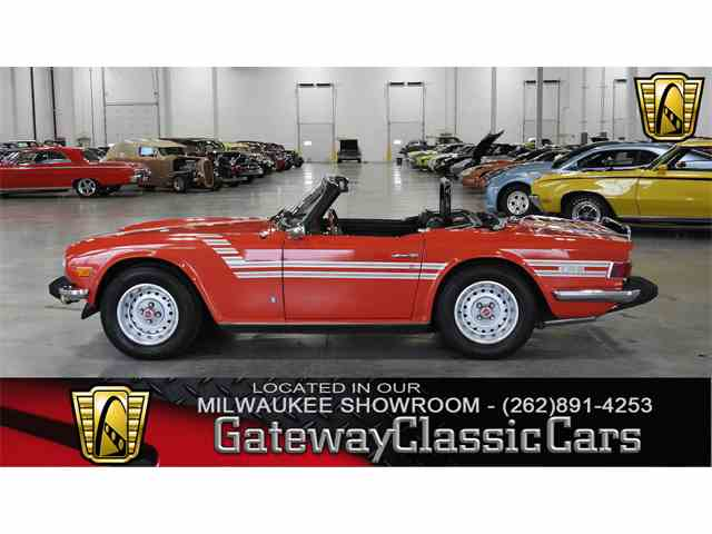 Picture of '76 TR6 - MBG3