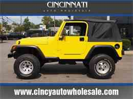 2000 Jeep Wrangler for Sale - CC-1041454