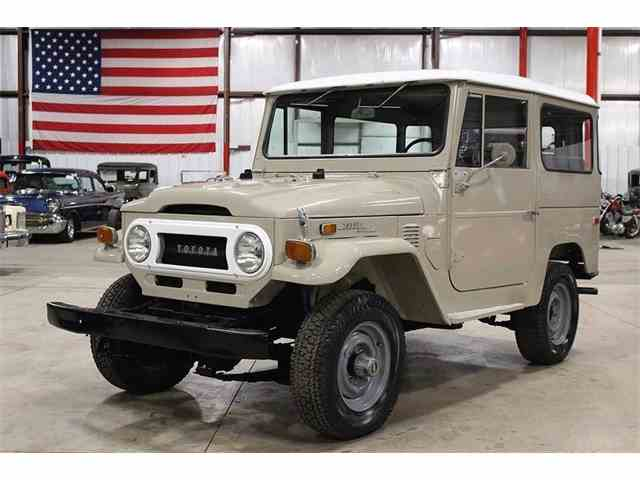 classic toyota land cruiser for sale on 94 available. Black Bedroom Furniture Sets. Home Design Ideas