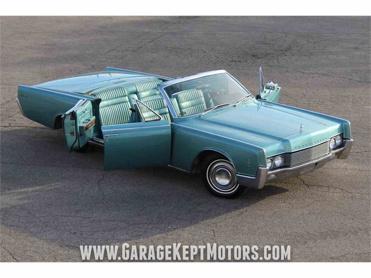 1966 lincoln continental 4 door convertible for sale cc 1040150. Black Bedroom Furniture Sets. Home Design Ideas