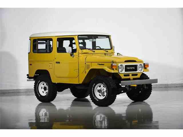 1981 Toyota Land Cruiser FJ40 | 1041521