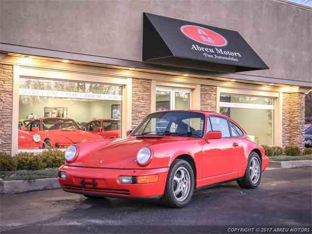 1991 Porsche 911 Carrera 4 | 1041761