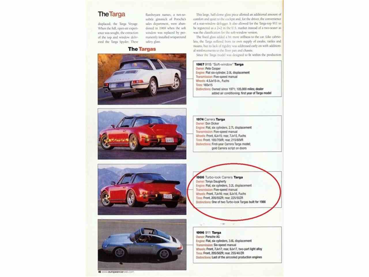 Large Picture of '86 911 - MBV8