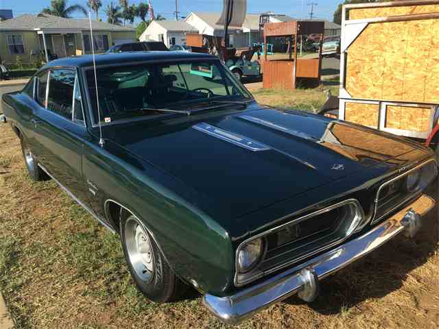 Picture of '68 Barracuda located in Imperial Beach CALIFORNIA - $14,000.00 Offered by a Private Seller - MBXS