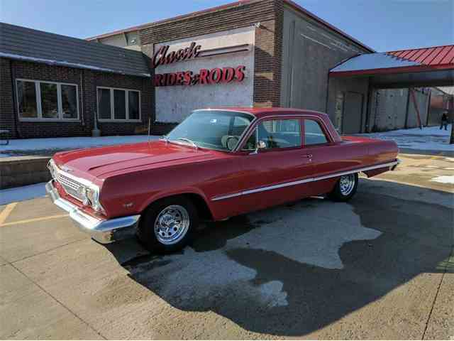 Picture of '63 Chevrolet Bel Air located in Annandale Minnesota Auction Vehicle - MC0A