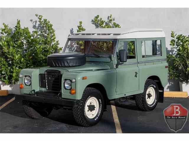 1974 Land Rover Series IIA | 1042099