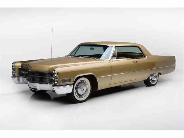 Picture of Classic '66 Cadillac Coupe DeVille located in Scottsdale ARIZONA - $34,900.00 Offered by Barrett-Jackson Collection Showroom - MCEK