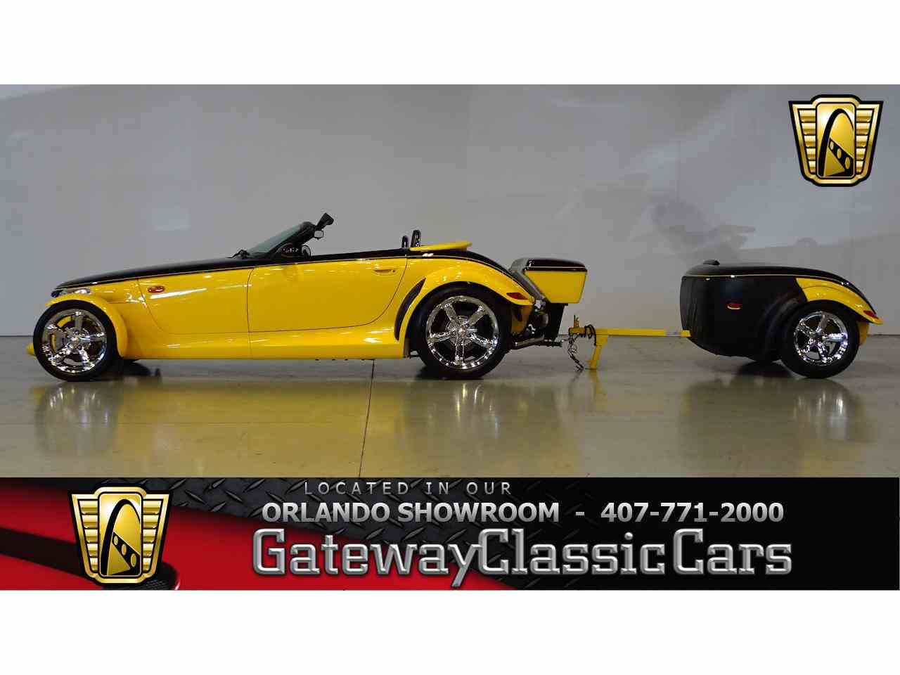 Large Picture of 1999 Plymouth Prowler located in Lake Mary Florida Offered by Gateway Classic Cars - Orlando - MCGJ