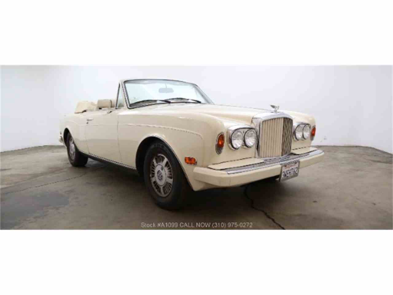 1990 Bentley Continental for Sale - CC-1042615