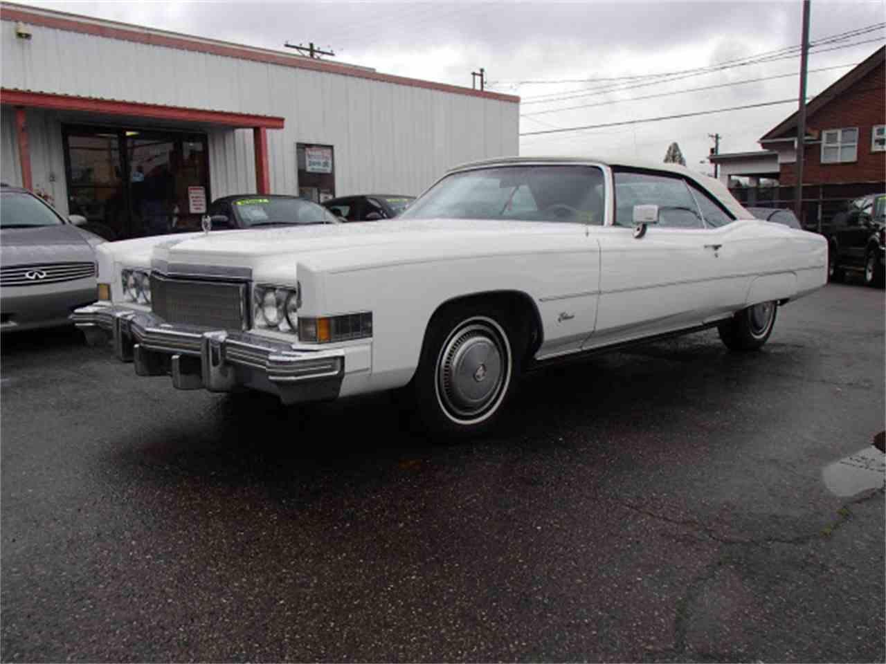 1974 Cadillac Eldorado for Sale - CC-1042683