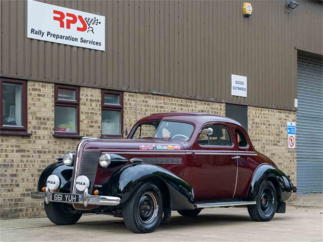 Large Picture of 1937 Buick Series 40 located in Oxfordshire Offered by Rally Preparation Services - MCKR