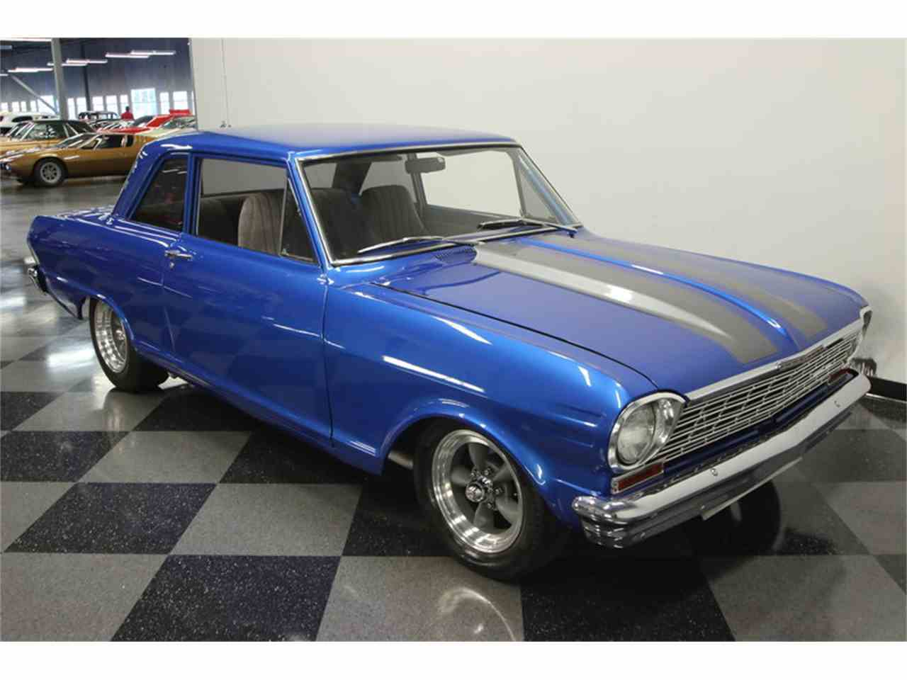 All Chevy 64 chevy ii : 1964 Chevrolet Chevy II Nova Restomod for Sale | ClassicCars.com ...