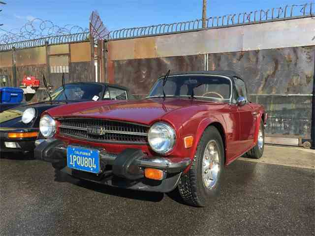 Picture of '76 TR6 - MAPC