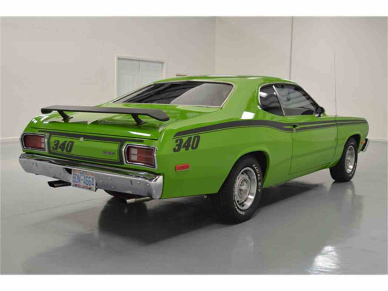 1973 plymouth duster 340 for sale cc 1043180. Black Bedroom Furniture Sets. Home Design Ideas