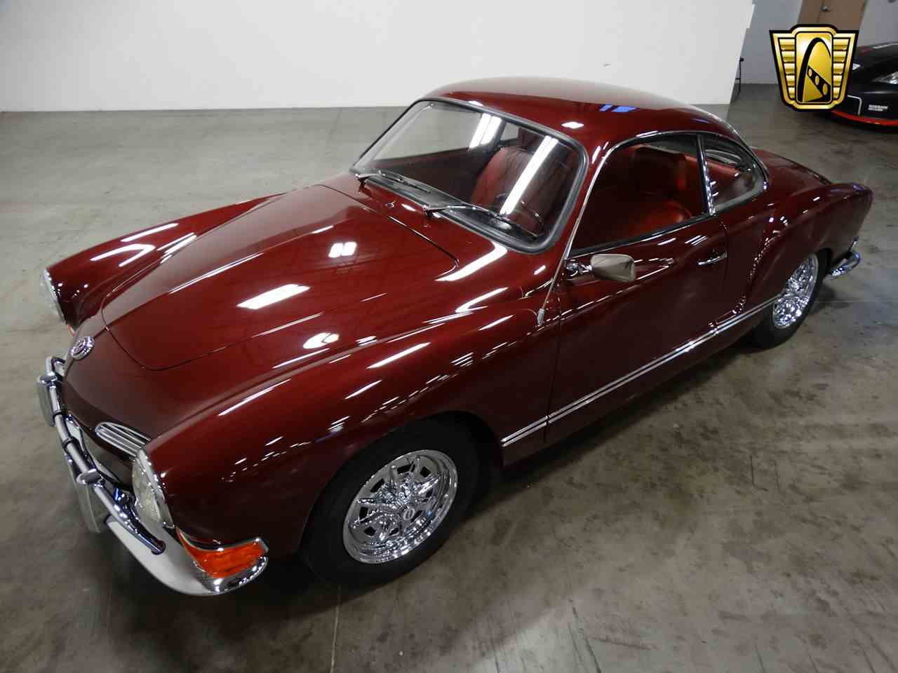 1971 volkswagen karmann ghia for sale cc 1043232. Black Bedroom Furniture Sets. Home Design Ideas