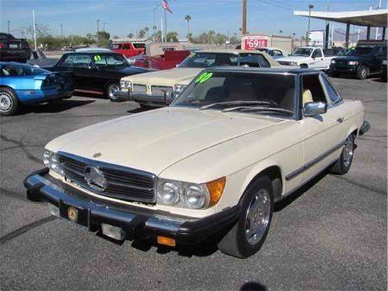 1980 mercedes benz 450sl for sale cc 1043350. Black Bedroom Furniture Sets. Home Design Ideas