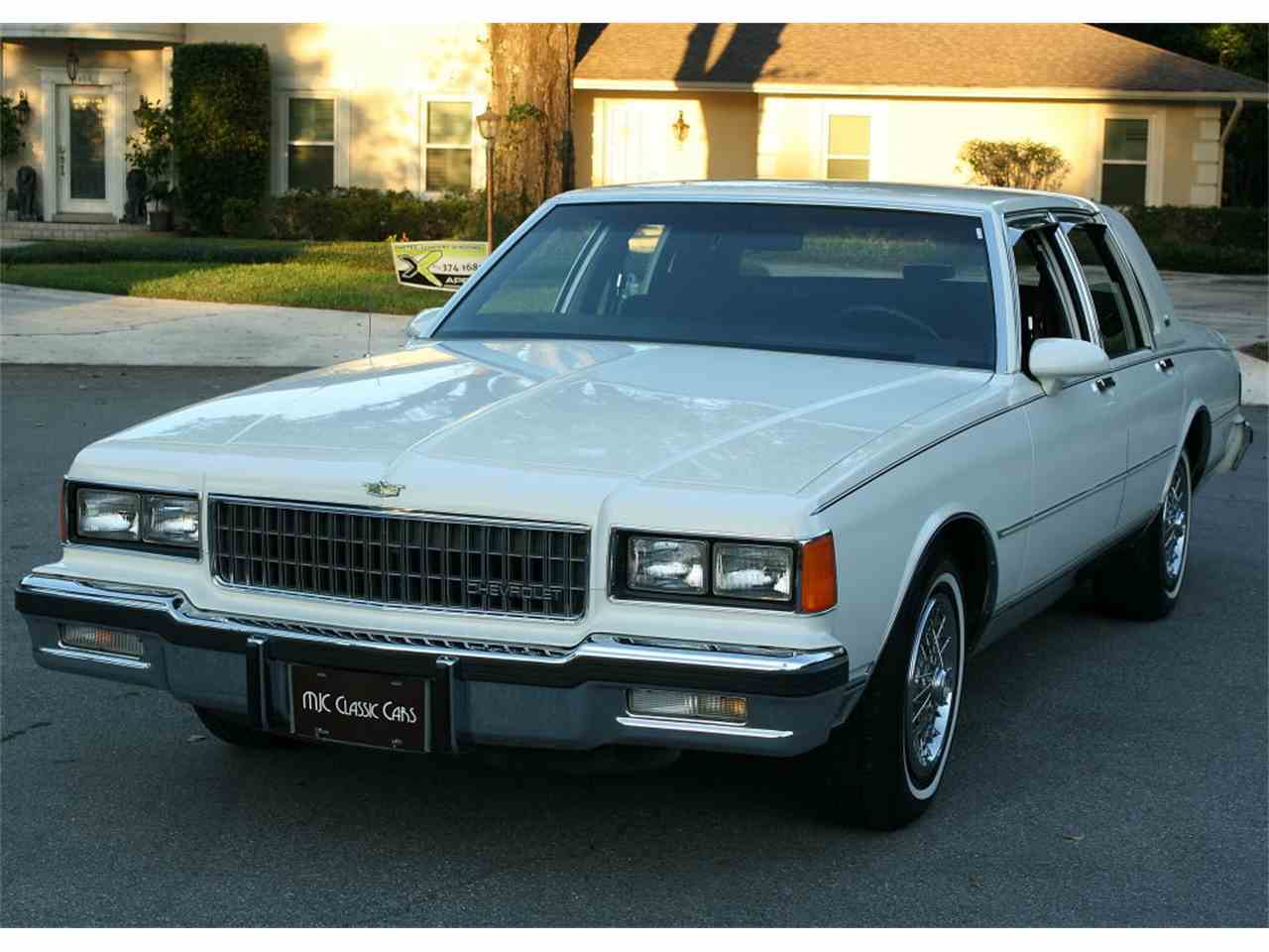 All Chevy 1987 chevrolet caprice classic brougham : Classic Chevrolet Caprice for Sale on ClassicCars.com