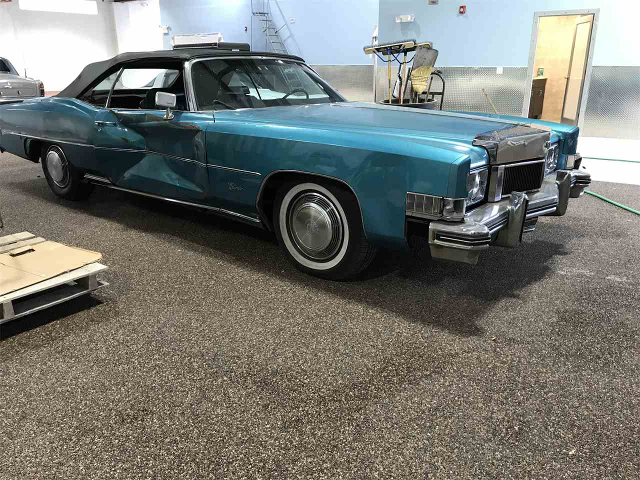 1973 cadillac eldorado for sale cc 1040037. Black Bedroom Furniture Sets. Home Design Ideas