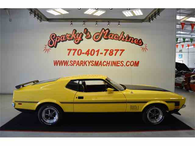 Picture of '72 Mustang Mach 1 - MDDG