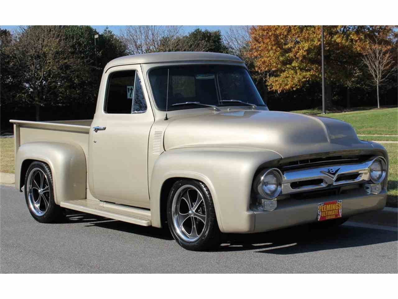 1954 ford f100 for sale cc 1043827 for Garage ford vernon 27200