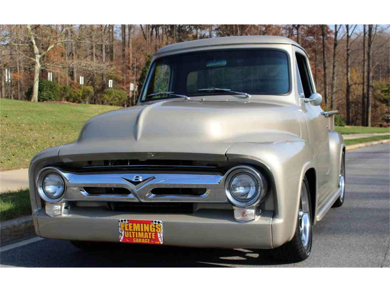 1954 ford f100 for sale cc 1043827 for Garage ford vernon