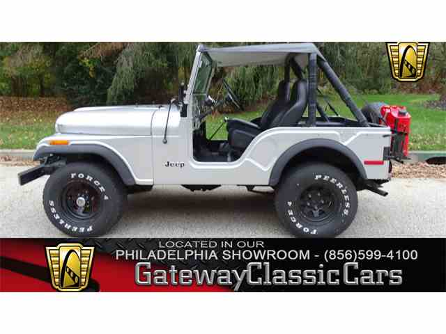 Picture of 1975 Jeep CJ5 located in West Deptford New Jersey - $15,995.00 - MDQG