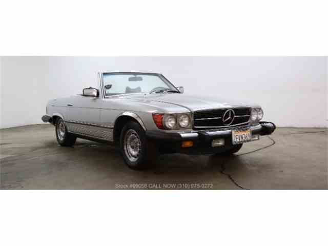1978 Mercedes Benz 450sl For Sale On