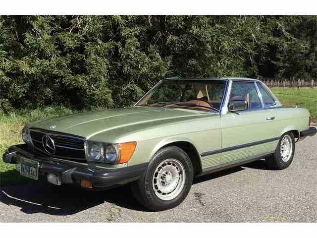 1979 Mercedes Benz 450sl For Sale On