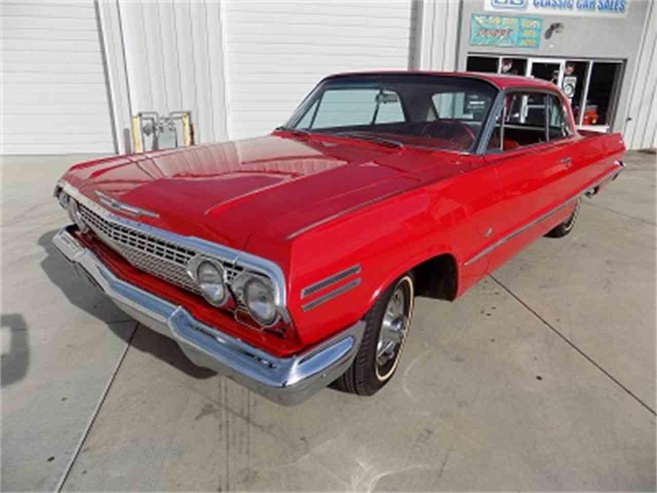 1963 chevrolet impala for sale cc 1045036. Black Bedroom Furniture Sets. Home Design Ideas